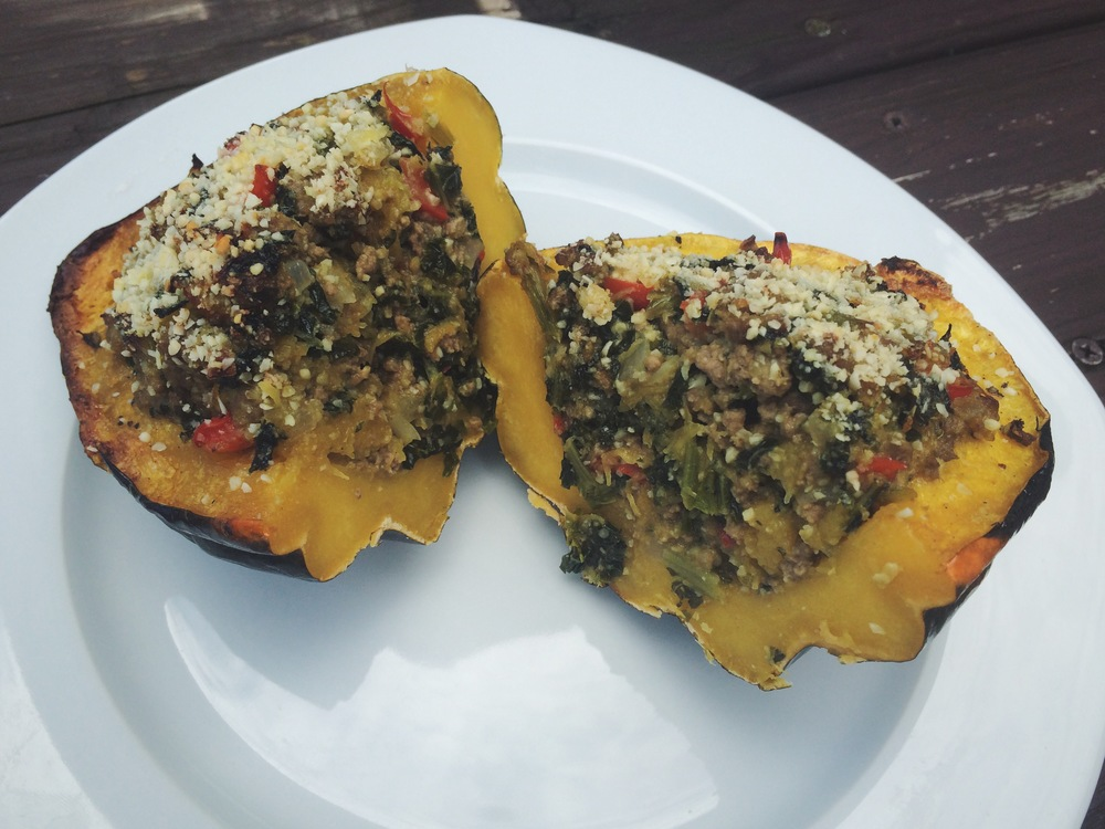 how to cook acorn squash whole 30
