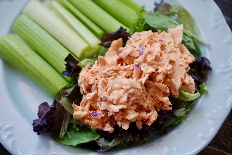 Buffalo chicken salad maria makes food diy blog buffalo chicken salad5g forumfinder Choice Image