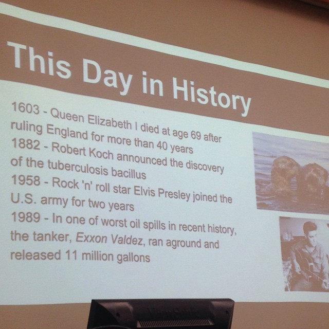 CFIG keeping you updated on the events of March 24th in history! #history #finance #cfig
