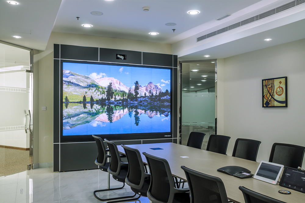 Gulf Business Machines (GBM) Video Conferencing Room