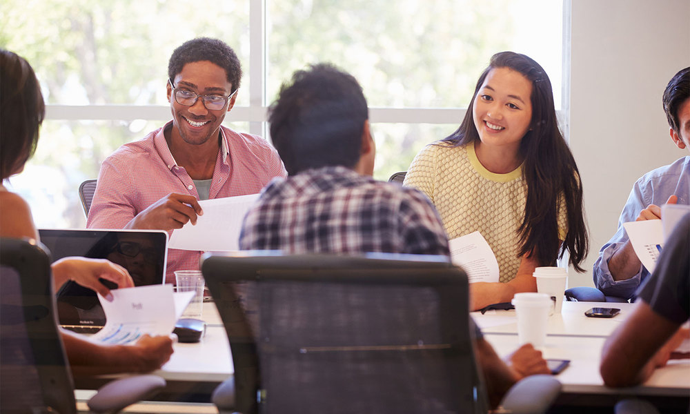 Collaborate   Inspire higher employee engagement and productivity that delivers faster insights