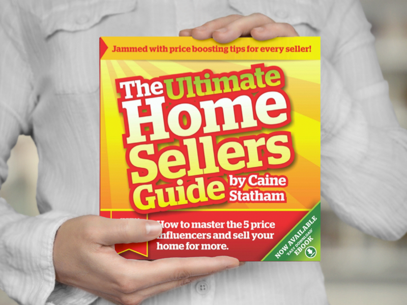 The book for getting your home successfully sold! - How to master the 5 price influencers and sell your home for more. Click for your free e-copy.