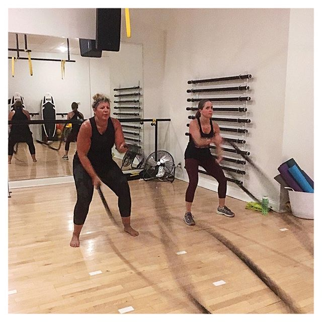 Good things come to those who SWEAT!  Have you gotten your SWEAT on today?!? #surfvibetribe #stlfitness #peacelovecore #battleropes