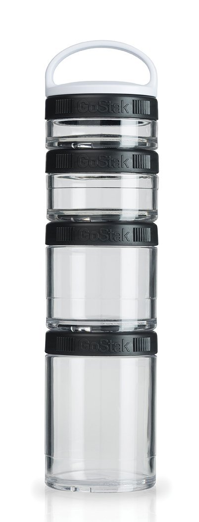 BlenderBottle GoStak Twist n' Lock Storage Jars