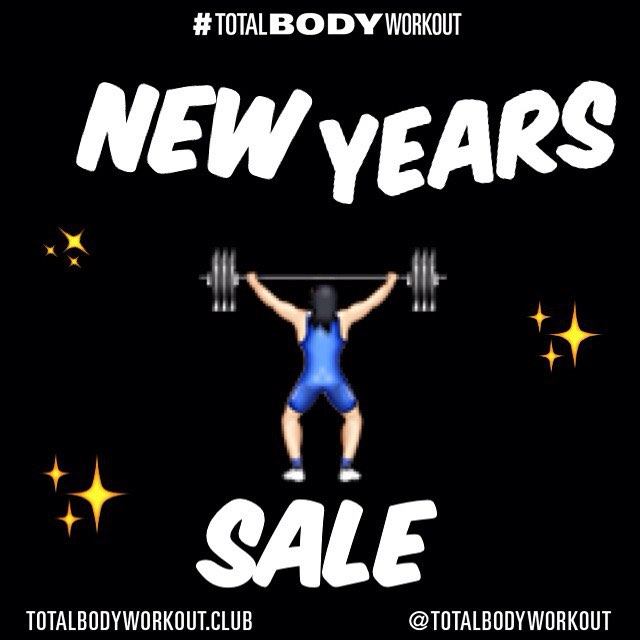 HAPPY NEW YEARS! A #NewYear means a NEW opportunity to set and accomplish new AND old goals. #TBWClub is here to help with our NEW YEARS SALE! Jumpstart programs are half price 🔜 link in bio  Let's do this!!! #TOTALBODYWORKOUT #2016