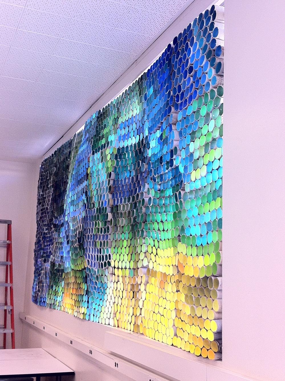Aurora Borealis Curtain Wall