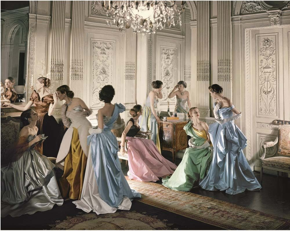 Charles James Ball Gowns, 1948, The Metropolitan Museum of Art, Photograph by Cecil Beaton, Beaton / Vogue / Condé Nast Archive. Copyright © Condé Nast