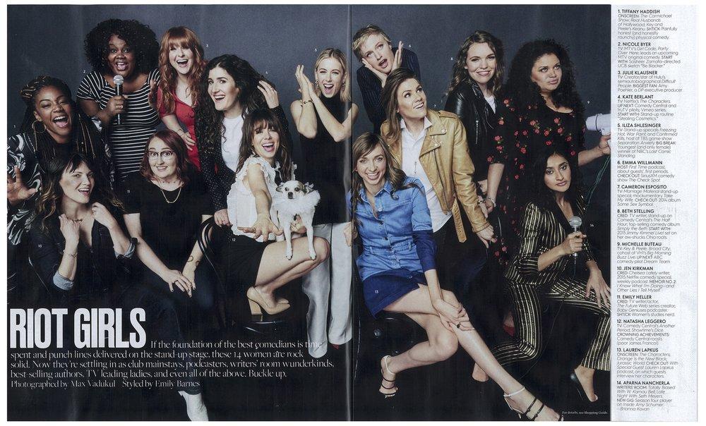 July 2016 Elle Magazine