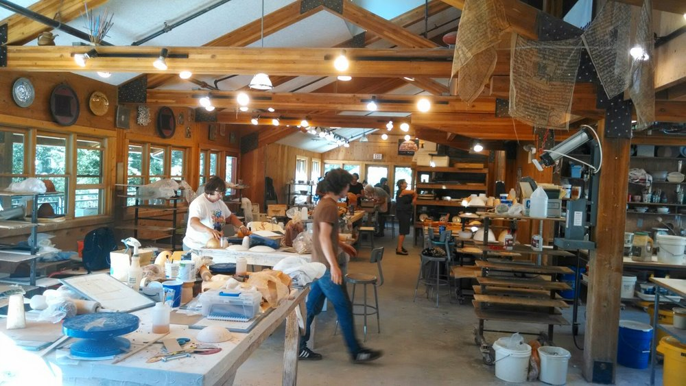 ceramics studio Anderson Ranch