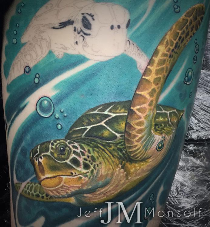 Color Tattoos — Jeff Mansolf