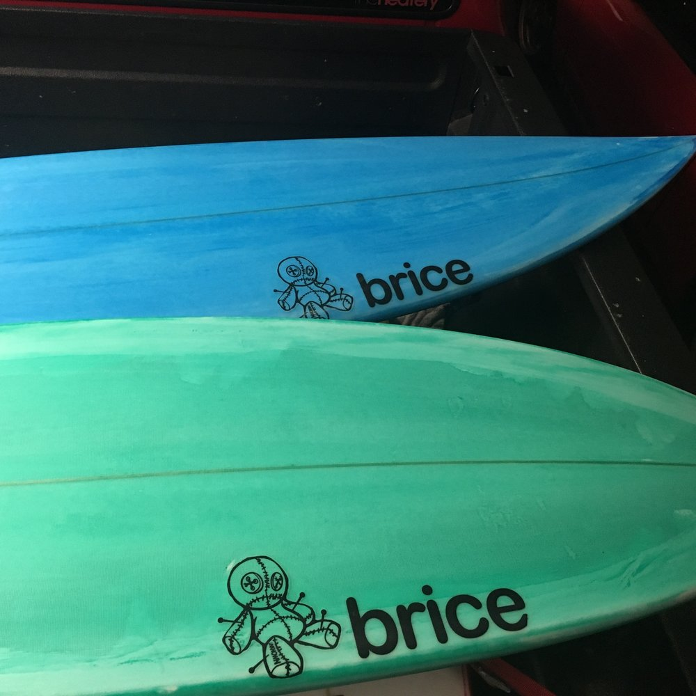Color work tint flow. Boards going to Big Island for charity.