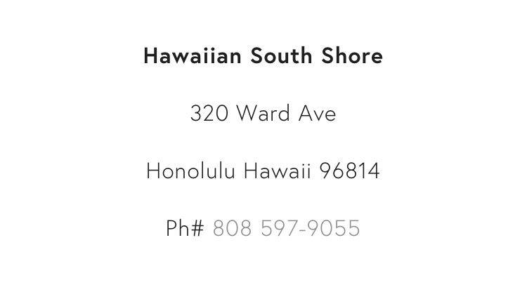 Excited to announce! New shop dealer on Hawaii: Hawaiian South Shore More info to follow soon.