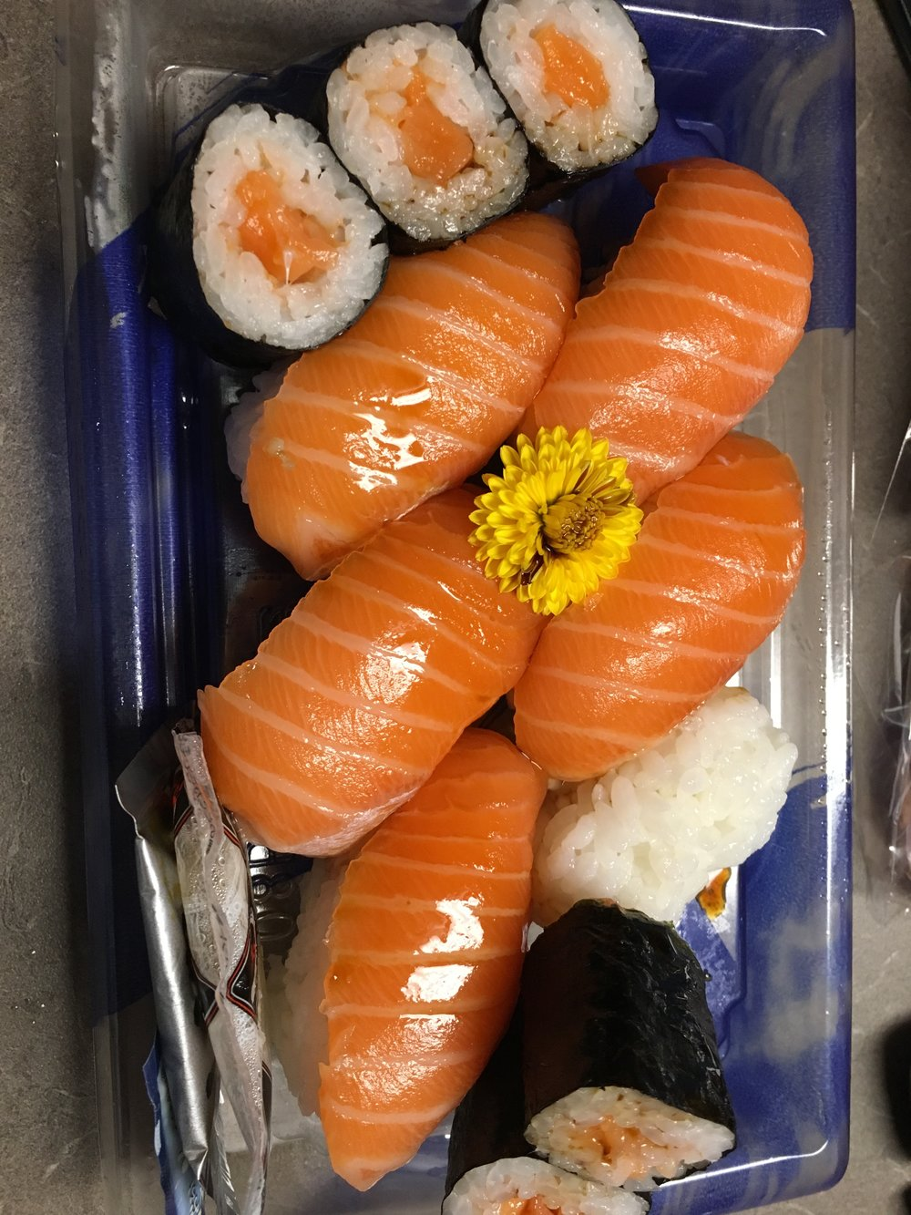 Sushi straight from Japan same day delivery.