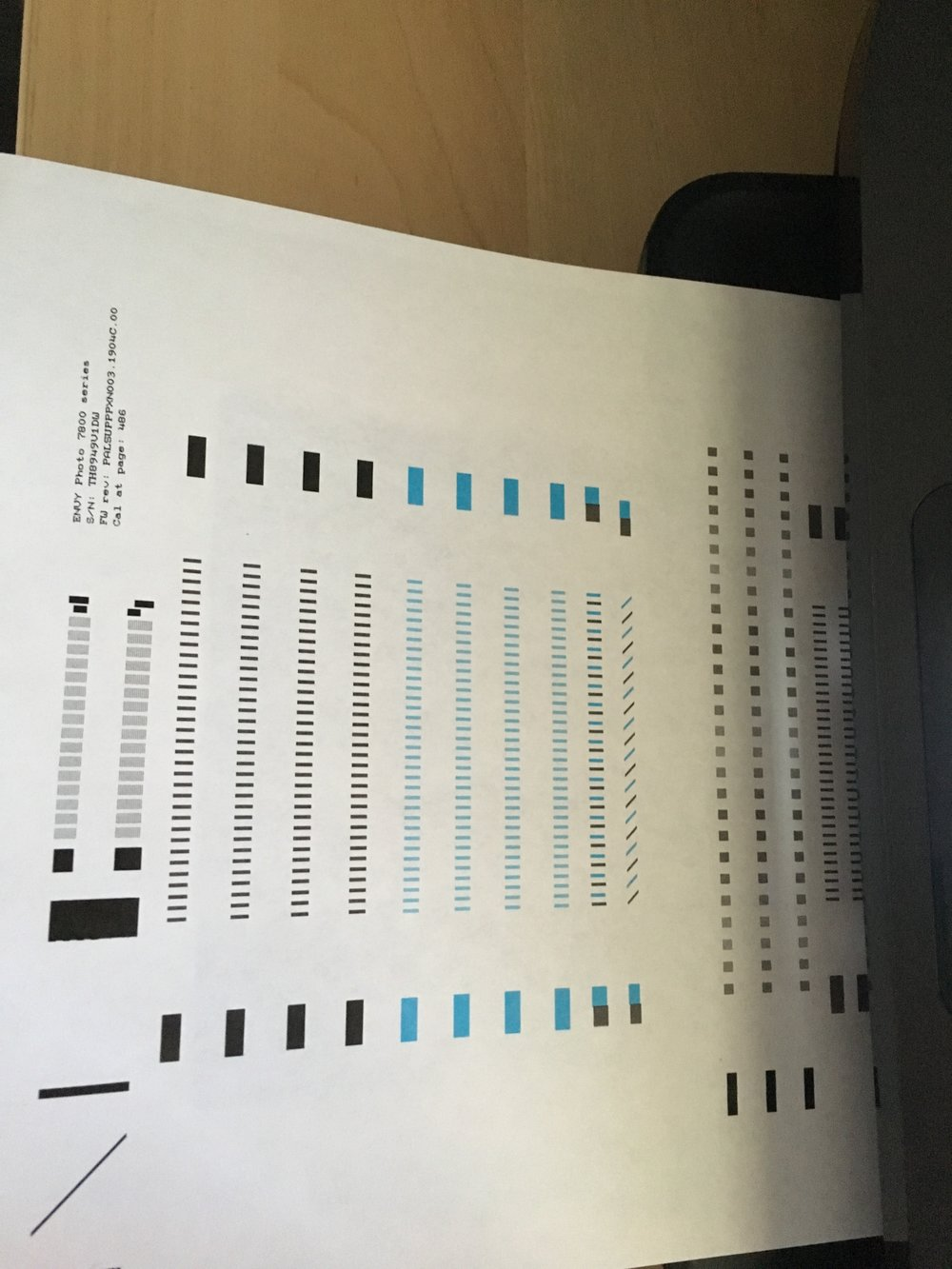 I swear printer companies are making a killing of ink, not the printer. Just like video games.  Is this test sheet even needed? Or are they helping me burn through ink.