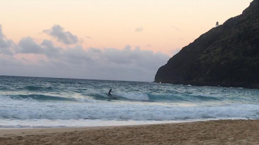 6:30pm beach break session