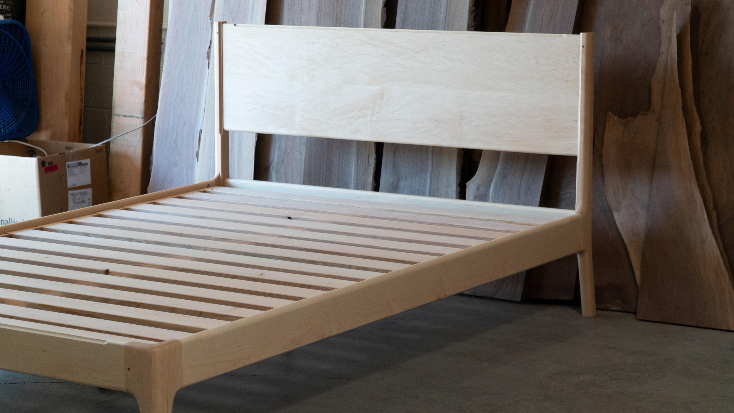June Platform Bed Boundary Fog Furniture