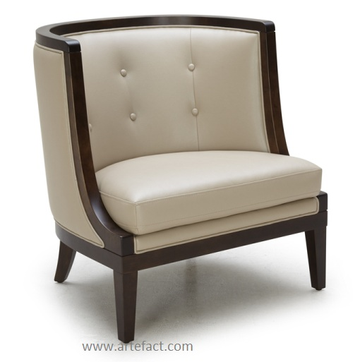 This chair would look fantastic in a contemporary or transitional home!