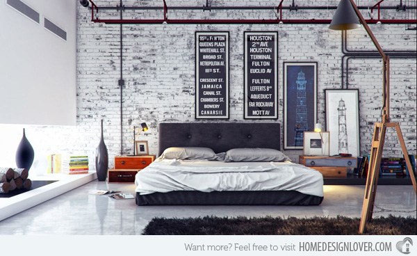 Source: http://homedesignlover.com/bedroom-designs/15-industrial-bedroom-designs/