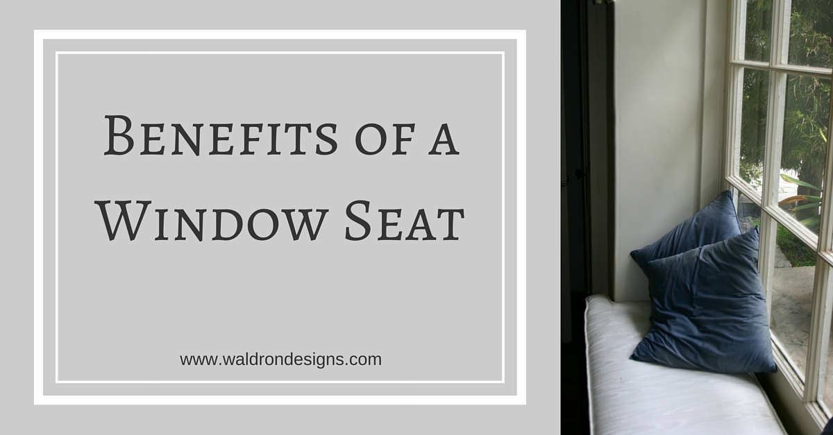 Peachy Benefits Of A Window Seat Waldron Designs Pabps2019 Chair Design Images Pabps2019Com