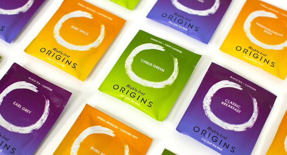 "Brand launch ""Origins"" tea by Mighty Leaf"