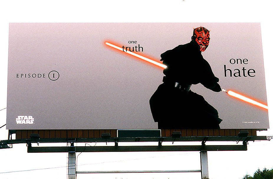 Star Wars, Episode I, global OOH advertising (all non-US markets)