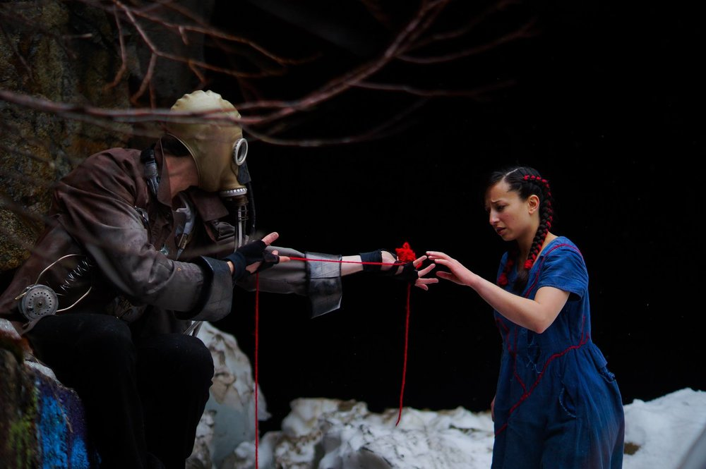Eli Wirtschafter and Marica Petrey as Mr Strange and Zoey_ProductionPhotoby_Mogli_Maureal.jpg