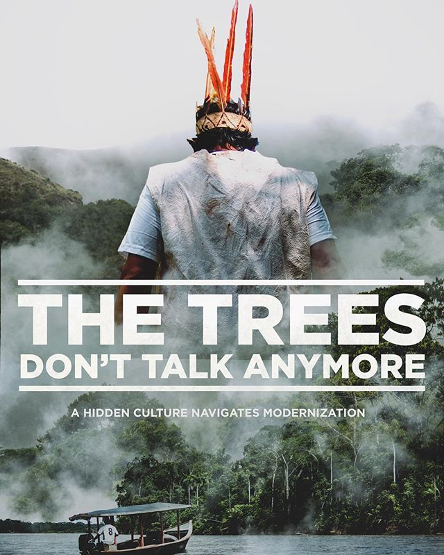 "The day has finally arrived! The Manú Project finally presents, The Trees Don't Talk Anymore. Our short film from our expedition with the stories and people we met that live in one of the last inhibited national parks of our world. Our film will premiere, for the first time on the big screen, on May 11th, 2017 at @thecenterjh at 7pm along with five other short films and their filmmakers at the ""Through Our Lens"" event. To all of you who live nearby, we hope to see you there!"