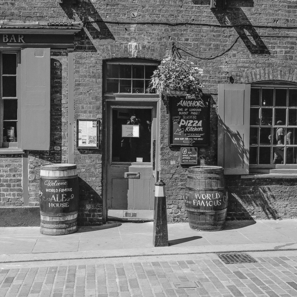 Pub Door, Southwark