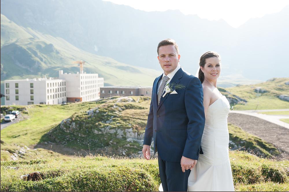 Hochzeitsfotograf ie Alpen