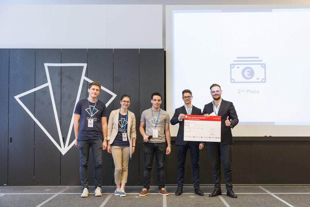 Team Schüschu won Second PLace at JSC 2017