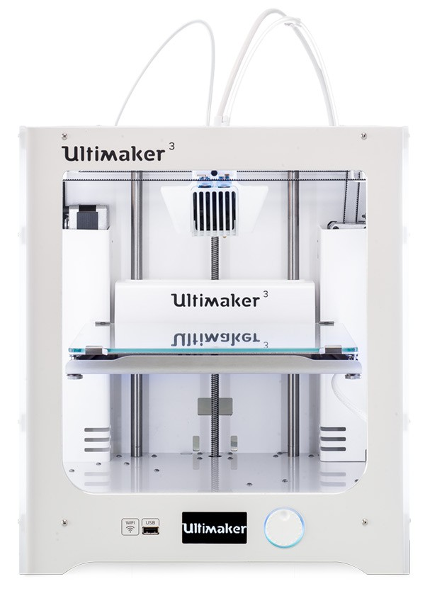 Ultimaker , Dual Print Cores.