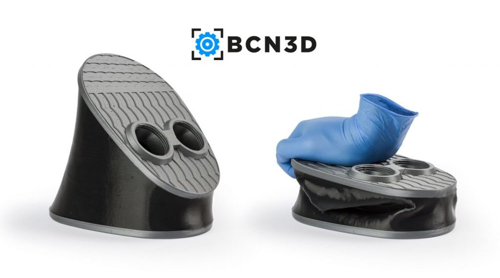 BCN3D, Rigid & Flexible Filaments.