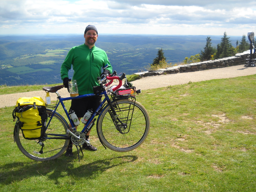 Todd Consentino atop Mt. Greylock
