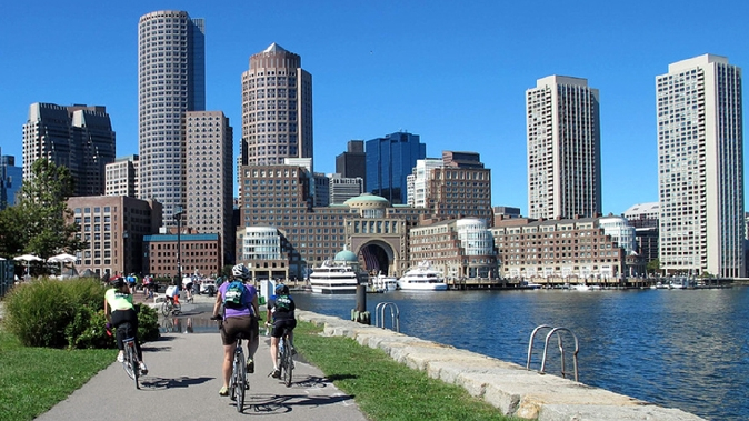 The Tour concludes with TD Hub On Wheels, Boston's annual cycling festival.