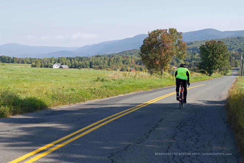 Rolling through the Berkshires on Thursday