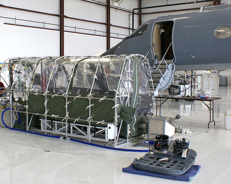 Aeromedical Biological Containment System for the Centers for Disease Control and Prevention