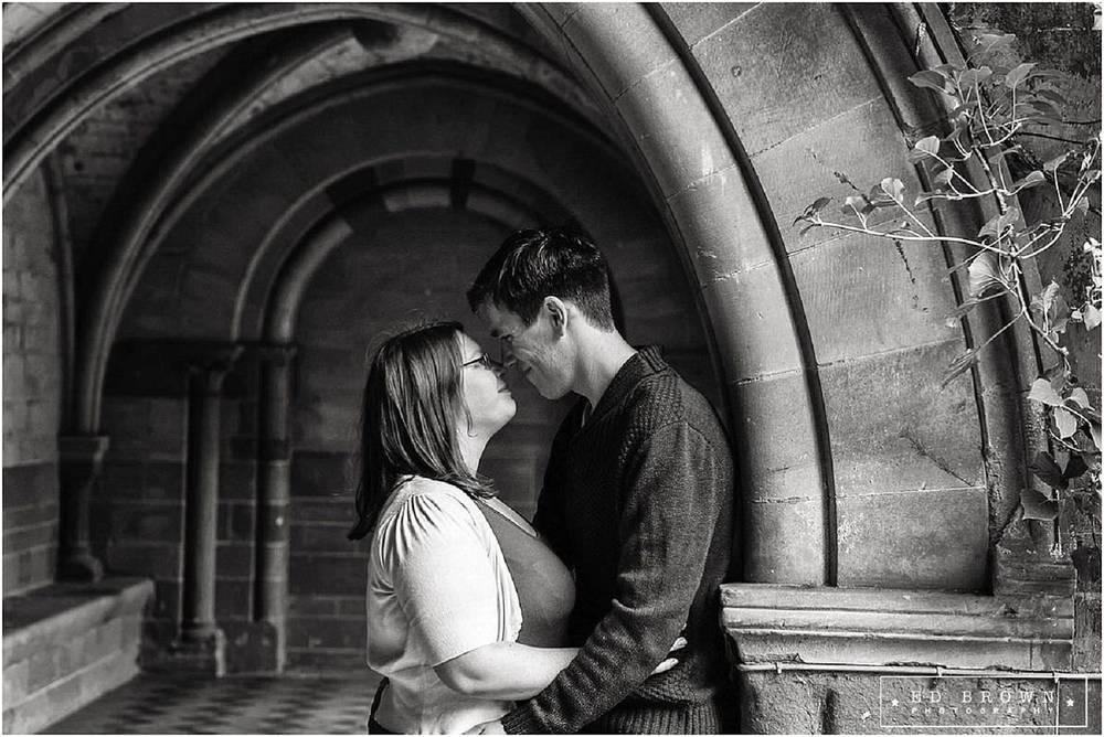Engagement Shoot at Coombe Abbey