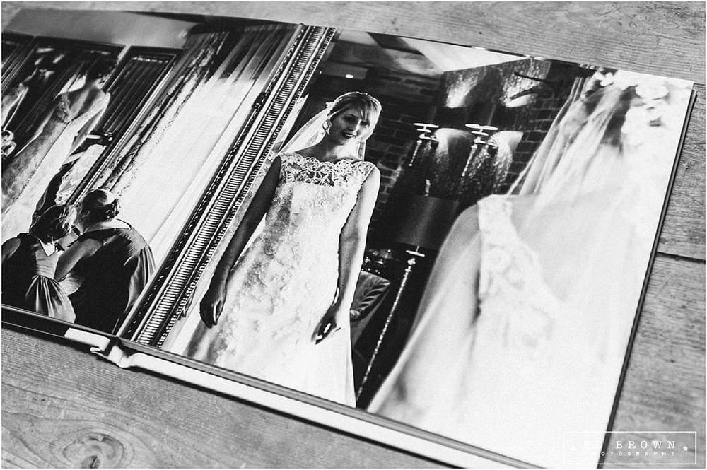 Mythe Barn Wedding Album