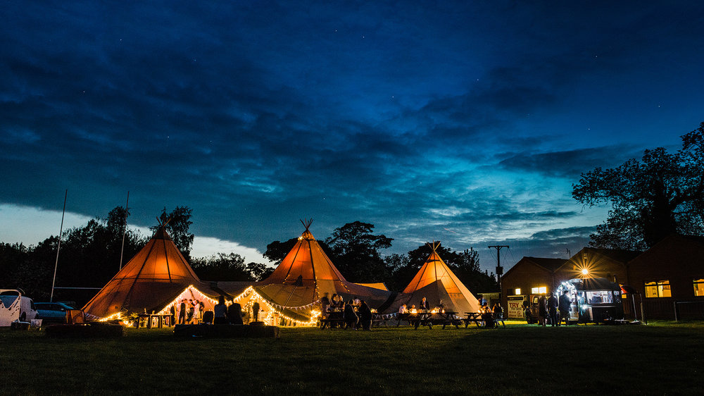 tipi wedding market bosworth