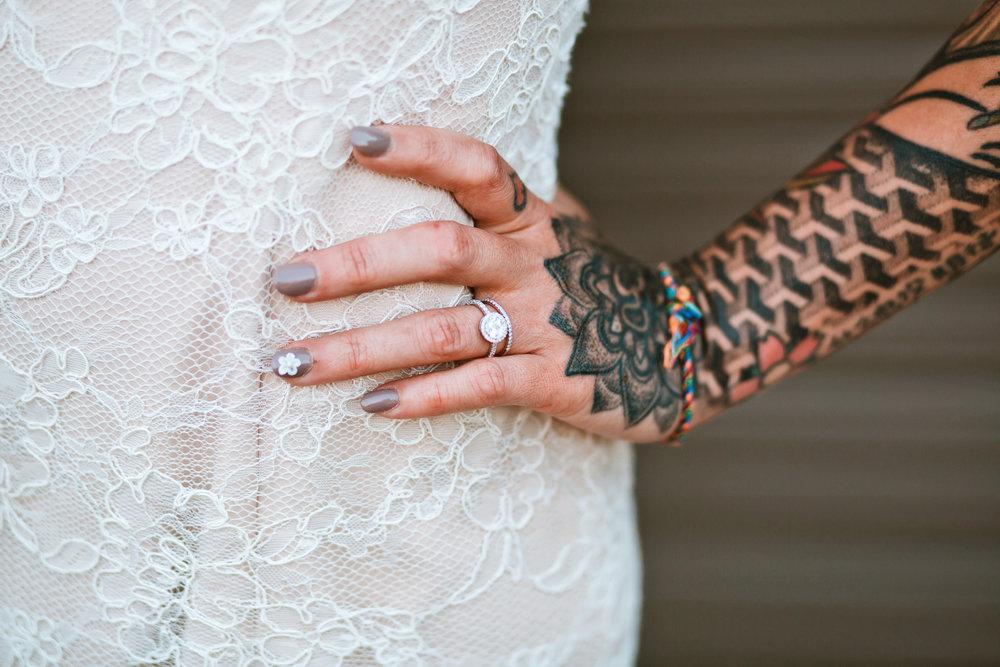 TATTOO WEDDING MYTHE BARN