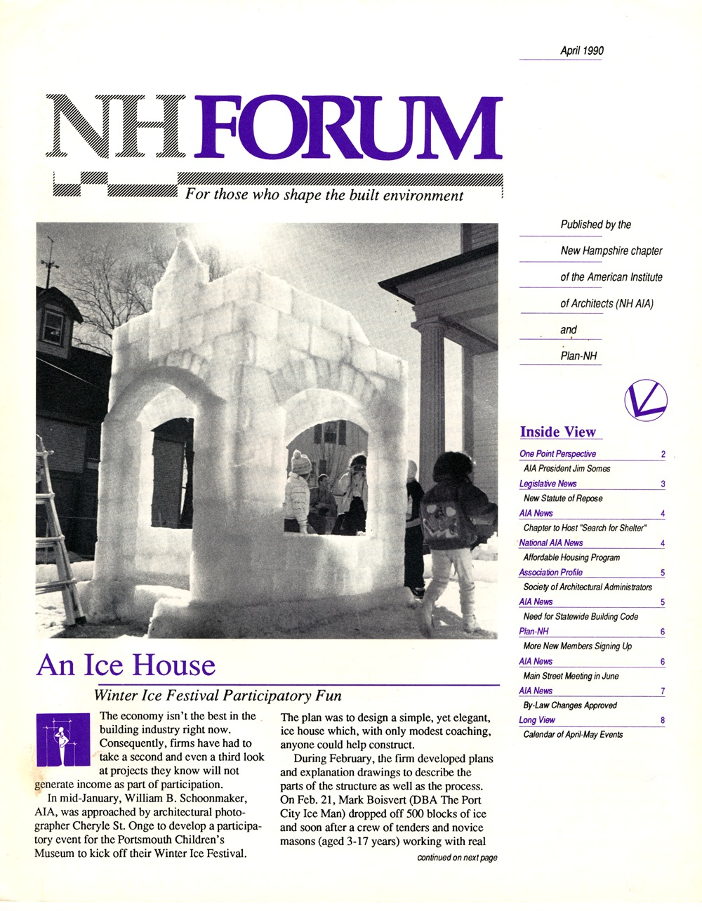 NH AIA - FORUM Newsletter - Cover - Ice House.jpg