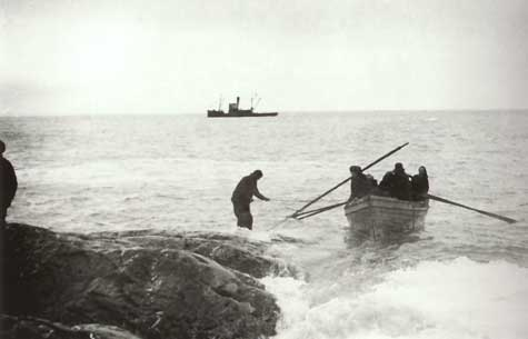 Rescue from Elephant Island - 30th August 1916