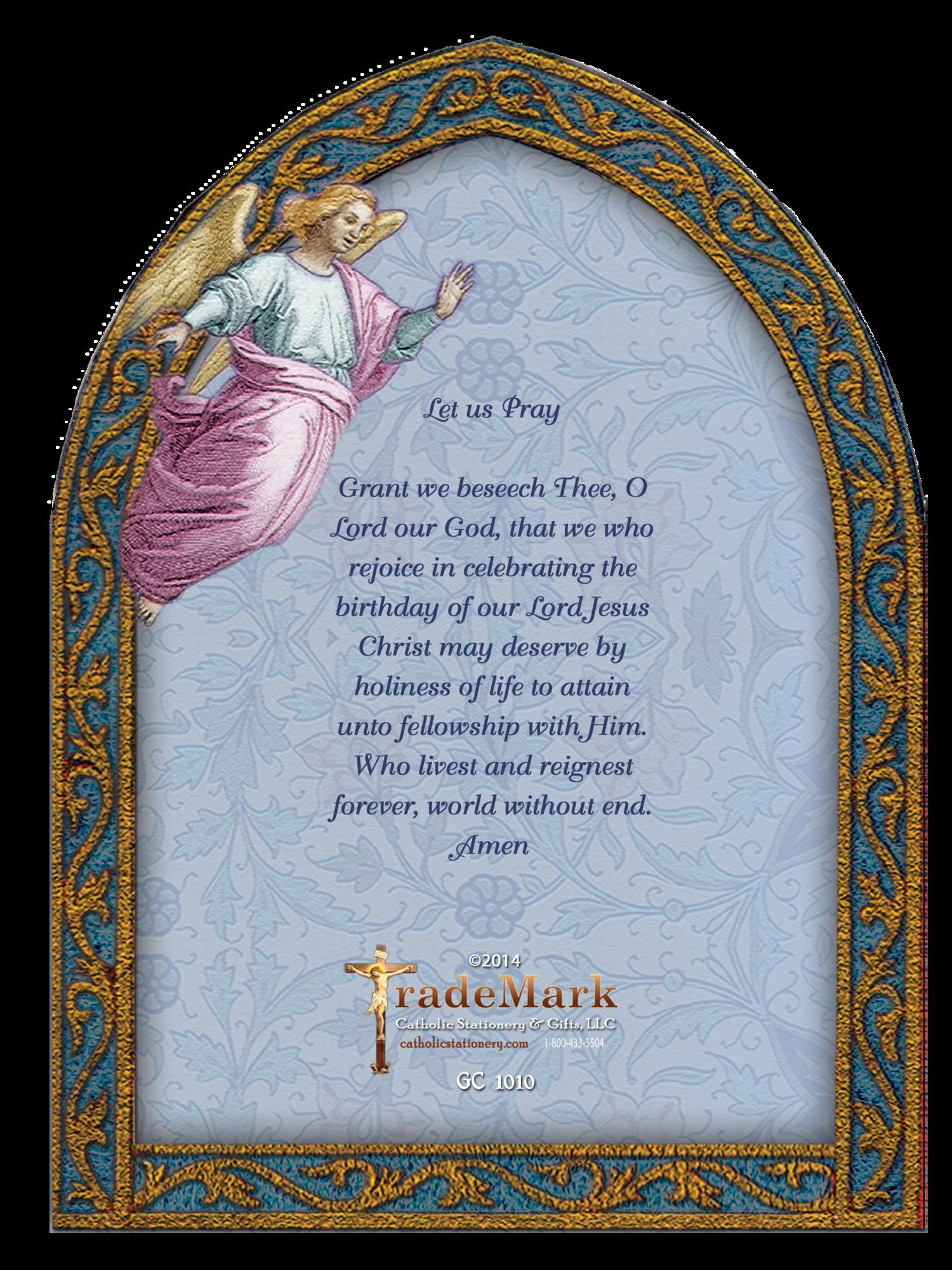 1010 Christmas Greeting Card Trademark Catholic Stationery Gifts