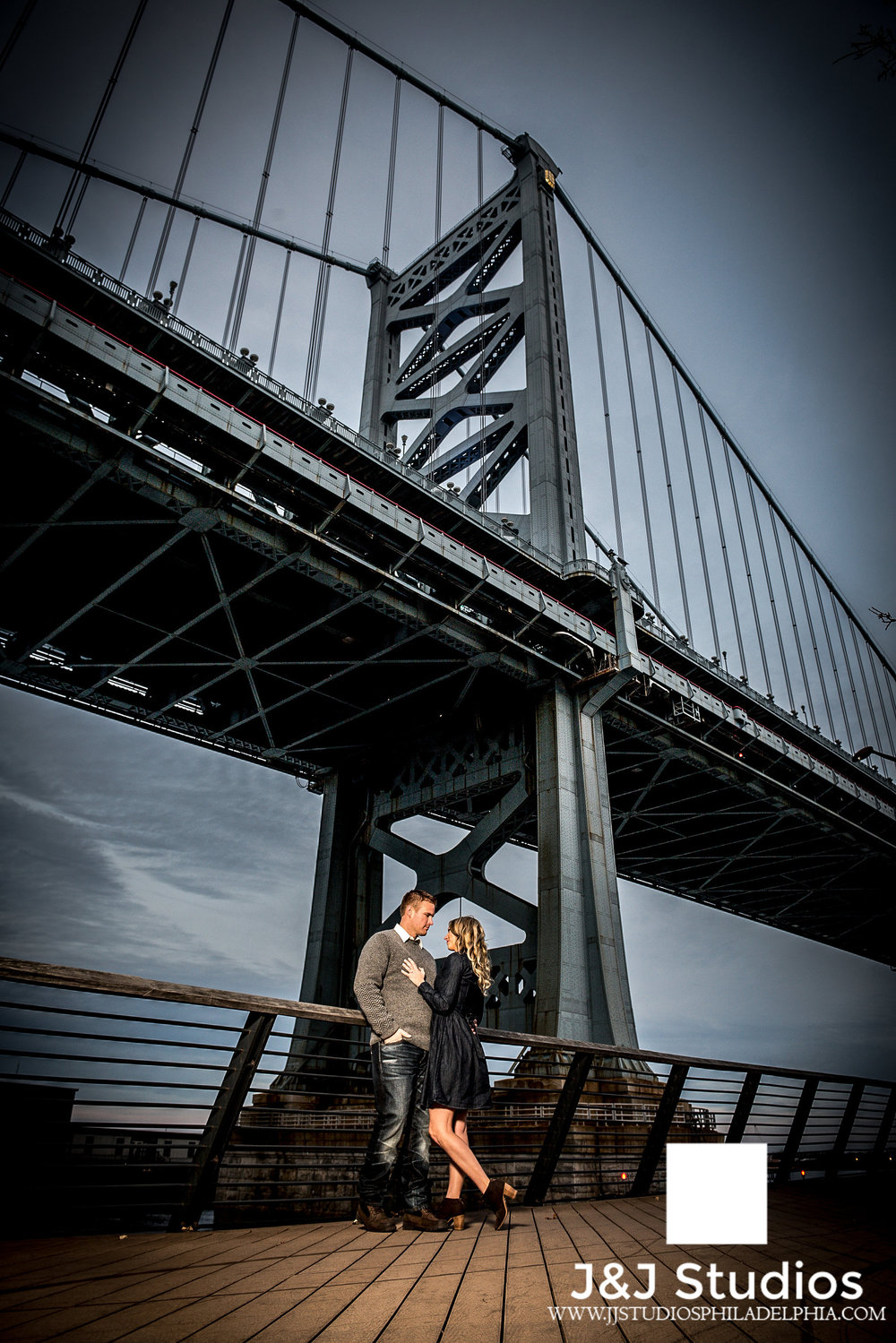 race street pier engagement shoot