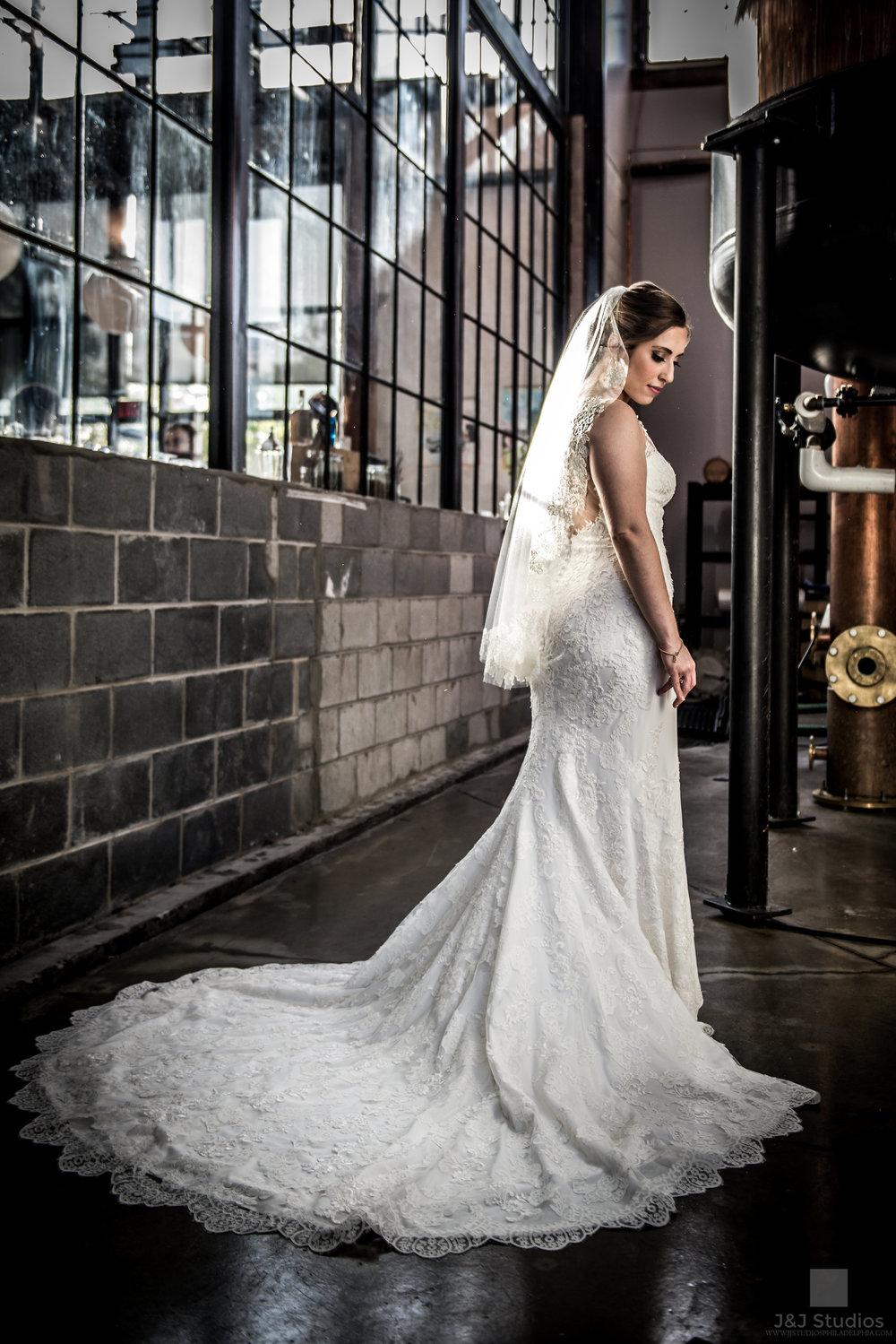 bride at philadelphia distilling