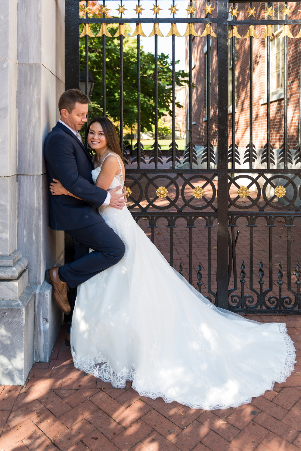 old city independence mall wedding