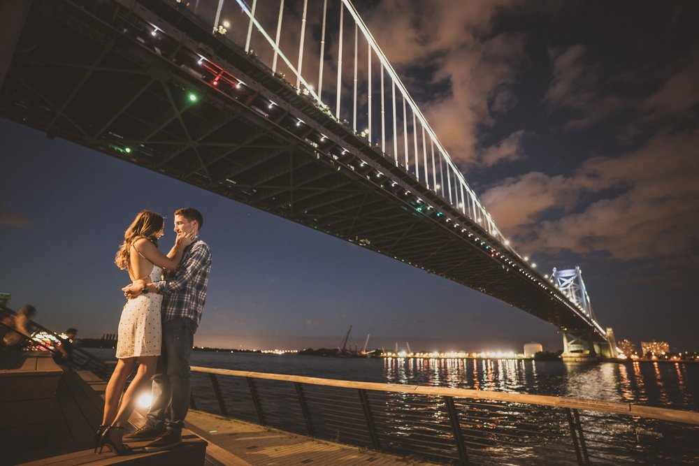 race-street-pier-with-ben-franklin-bridge-engagement