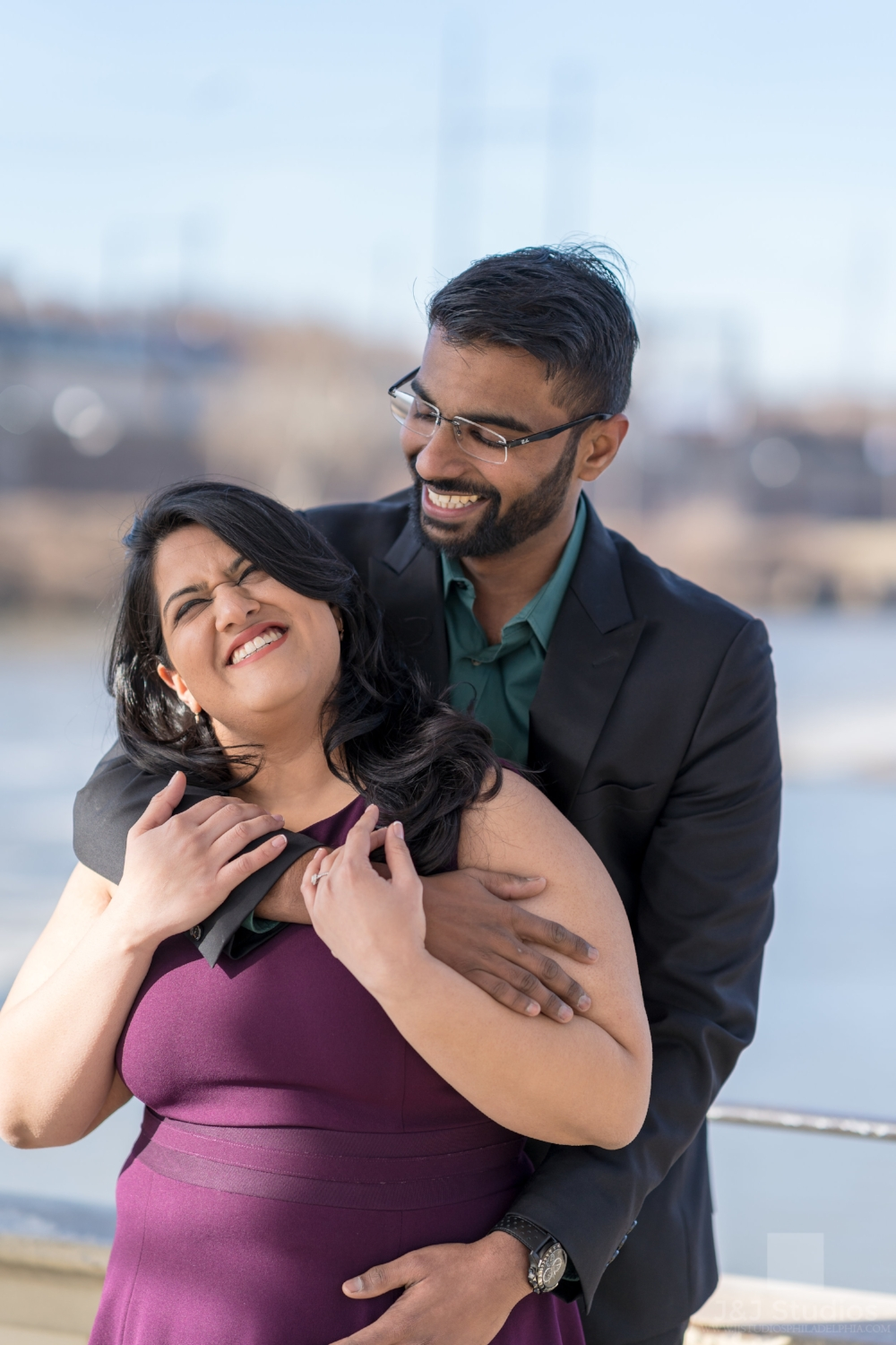 best-indian-engagement-photographer