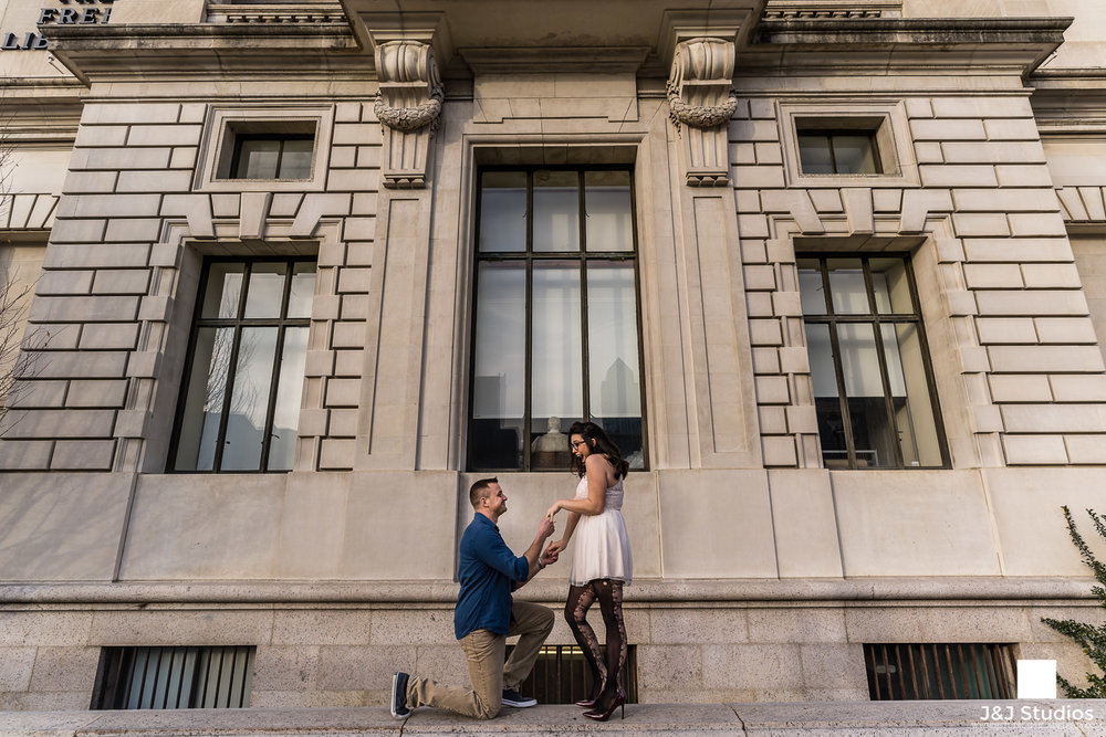 free library of philadelphia proposal photographer