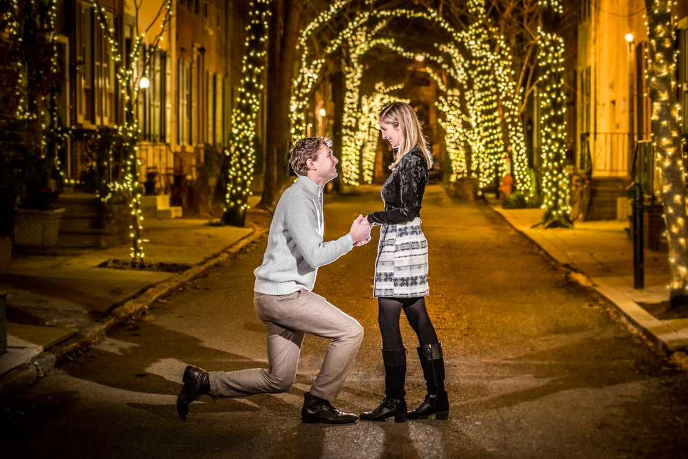 philly addison street engagement session proposal
